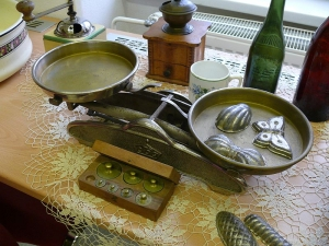 Výstava Kouzlo zašlých časů - váhy a mlýnek na kávu