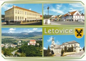 Pohlednice Letovice
